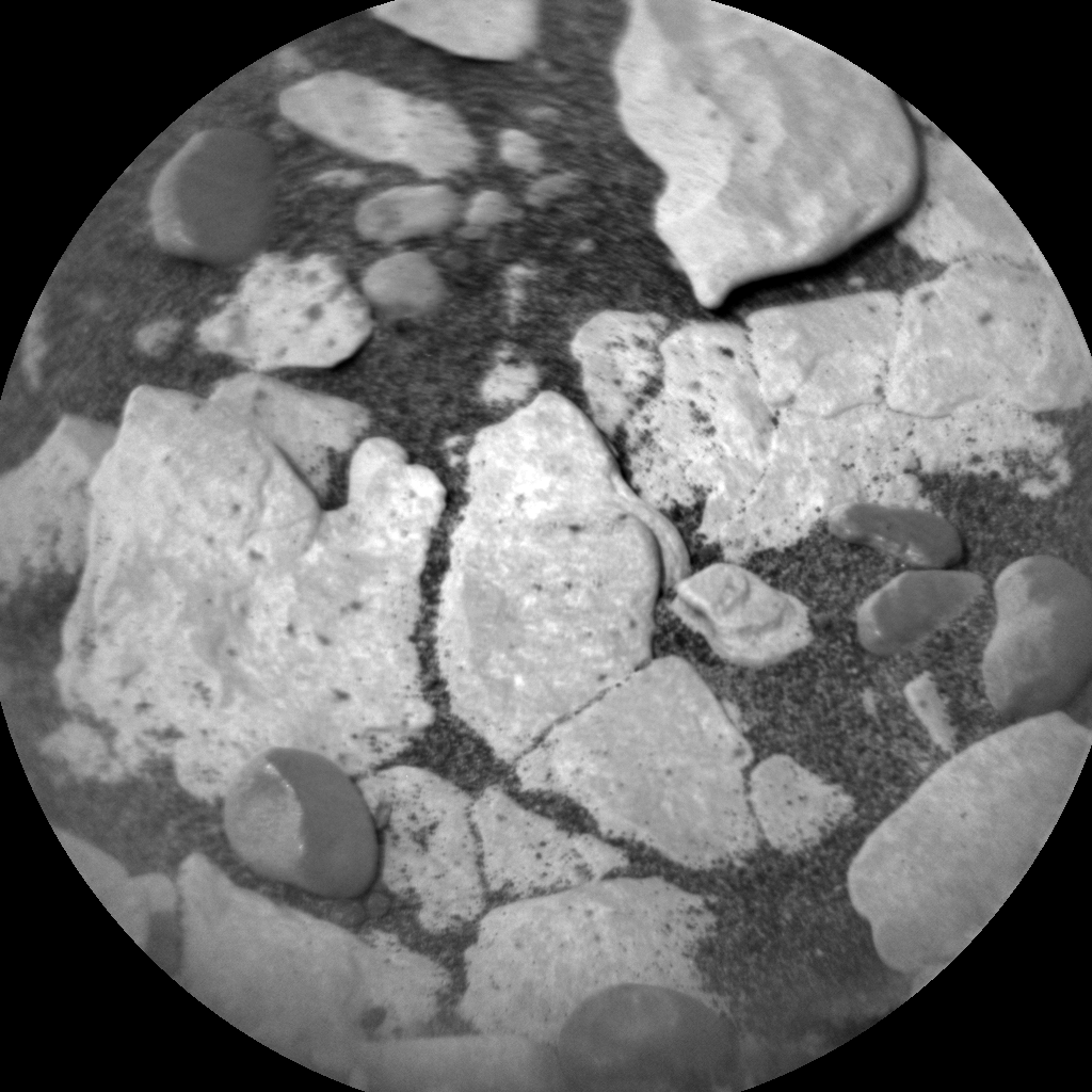 Nasa's Mars rover Curiosity acquired this image using its Chemistry & Camera (ChemCam) on Sol 2825, at drive 1978, site number 82