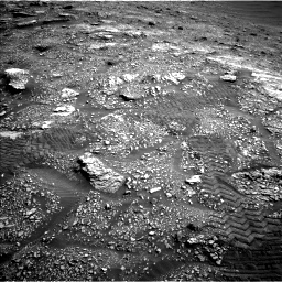 Nasa's Mars rover Curiosity acquired this image using its Left Navigation Camera on Sol 2829, at drive 2008, site number 82