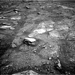 Nasa's Mars rover Curiosity acquired this image using its Left Navigation Camera on Sol 2829, at drive 2038, site number 82