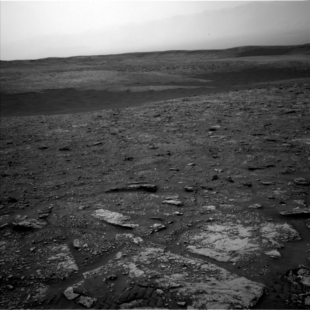 Nasa's Mars rover Curiosity acquired this image using its Left Navigation Camera on Sol 2829, at drive 2176, site number 82