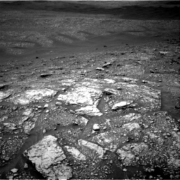 Nasa's Mars rover Curiosity acquired this image using its Right Navigation Camera on Sol 2829, at drive 1978, site number 82