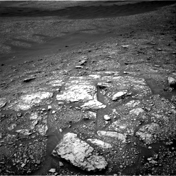 Nasa's Mars rover Curiosity acquired this image using its Right Navigation Camera on Sol 2829, at drive 1984, site number 82