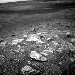 Nasa's Mars rover Curiosity acquired this image using its Right Navigation Camera on Sol 2829, at drive 1990, site number 82