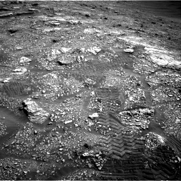Nasa's Mars rover Curiosity acquired this image using its Right Navigation Camera on Sol 2829, at drive 2008, site number 82