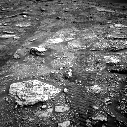 Nasa's Mars rover Curiosity acquired this image using its Right Navigation Camera on Sol 2829, at drive 2044, site number 82