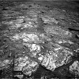 Nasa's Mars rover Curiosity acquired this image using its Right Navigation Camera on Sol 2829, at drive 2110, site number 82