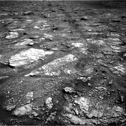 Nasa's Mars rover Curiosity acquired this image using its Right Navigation Camera on Sol 2829, at drive 2152, site number 82