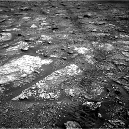 Nasa's Mars rover Curiosity acquired this image using its Right Navigation Camera on Sol 2829, at drive 2158, site number 82