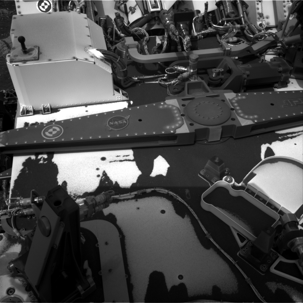 Nasa's Mars rover Curiosity acquired this image using its Right Navigation Camera on Sol 2830, at drive 2176, site number 82