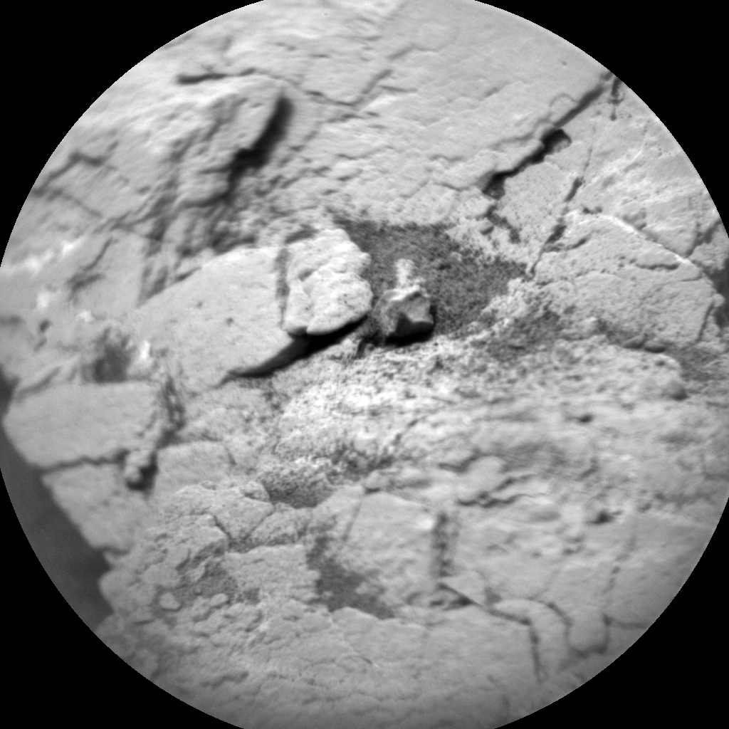 Nasa's Mars rover Curiosity acquired this image using its Chemistry & Camera (ChemCam) on Sol 2830, at drive 2176, site number 82