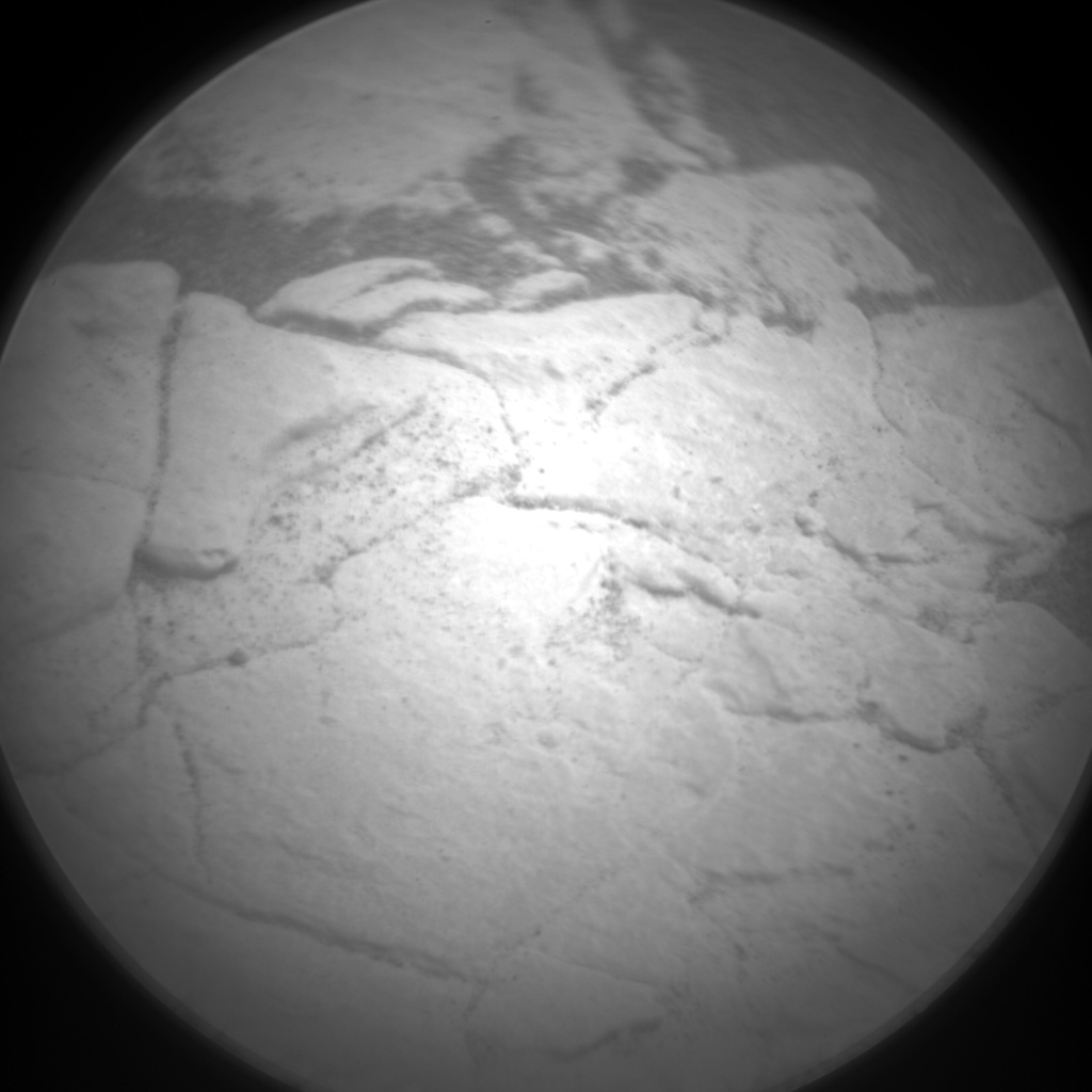 Nasa's Mars rover Curiosity acquired this image using its Chemistry & Camera (ChemCam) on Sol 2831, at drive 2176, site number 82