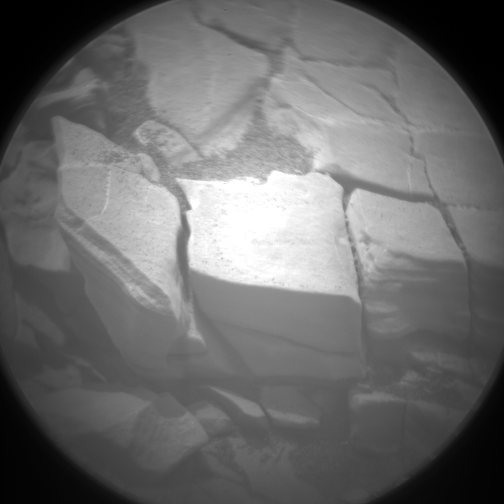 Nasa's Mars rover Curiosity acquired this image using its Chemistry & Camera (ChemCam) on Sol 2837, at drive 2176, site number 82