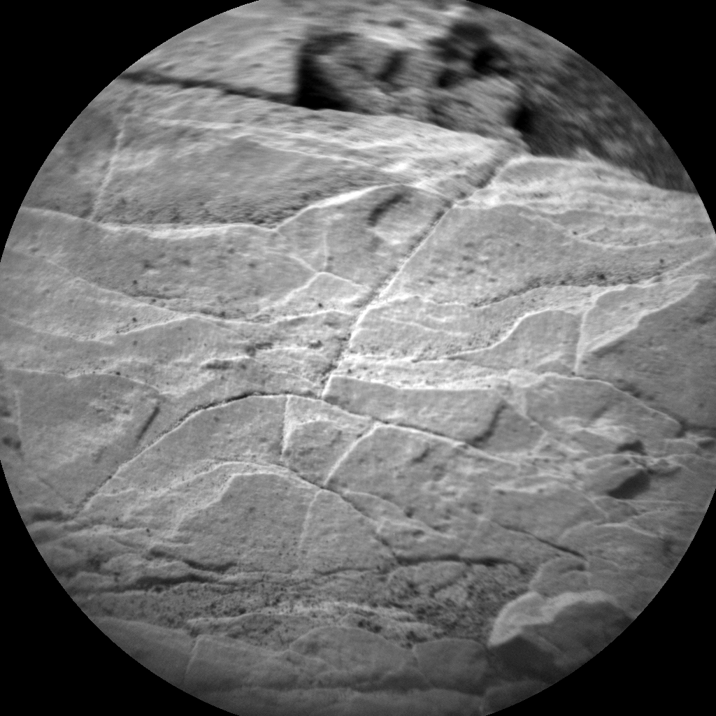 Nasa's Mars rover Curiosity acquired this image using its Chemistry & Camera (ChemCam) on Sol 2839, at drive 2176, site number 82