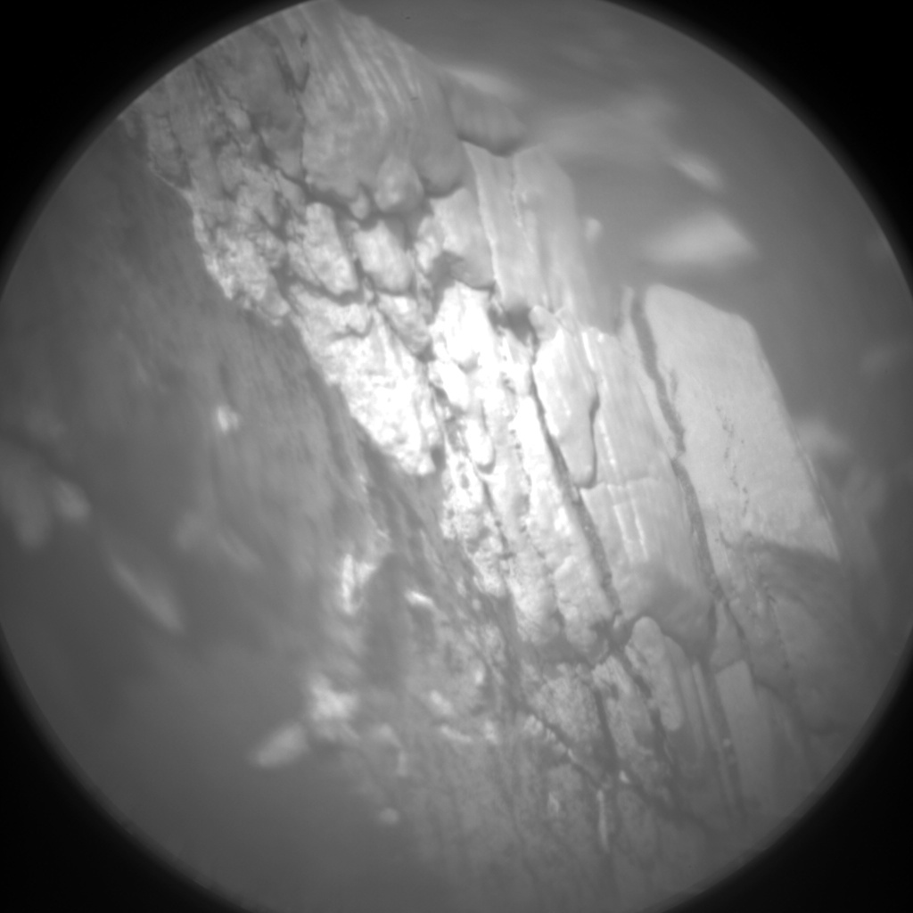 Nasa's Mars rover Curiosity acquired this image using its Chemistry & Camera (ChemCam) on Sol 2841, at drive 2176, site number 82