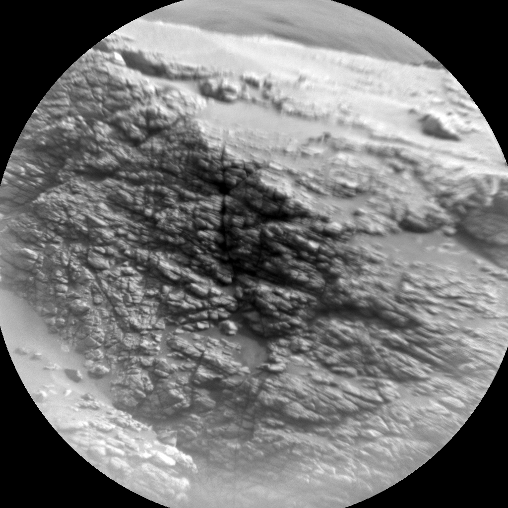 Nasa's Mars rover Curiosity acquired this image using its Chemistry & Camera (ChemCam) on Sol 2842, at drive 2176, site number 82