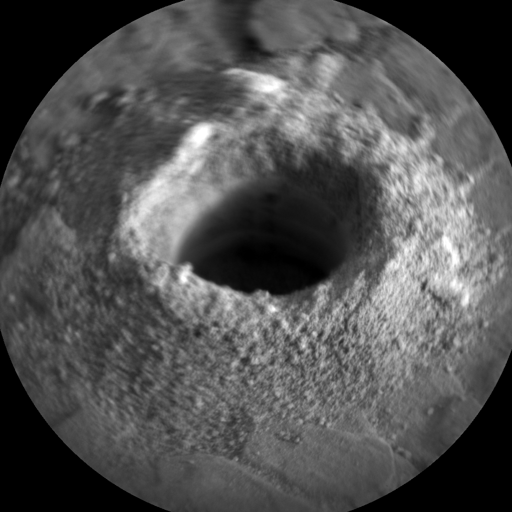 Nasa's Mars rover Curiosity acquired this image using its Chemistry & Camera (ChemCam) on Sol 2843, at drive 2176, site number 82