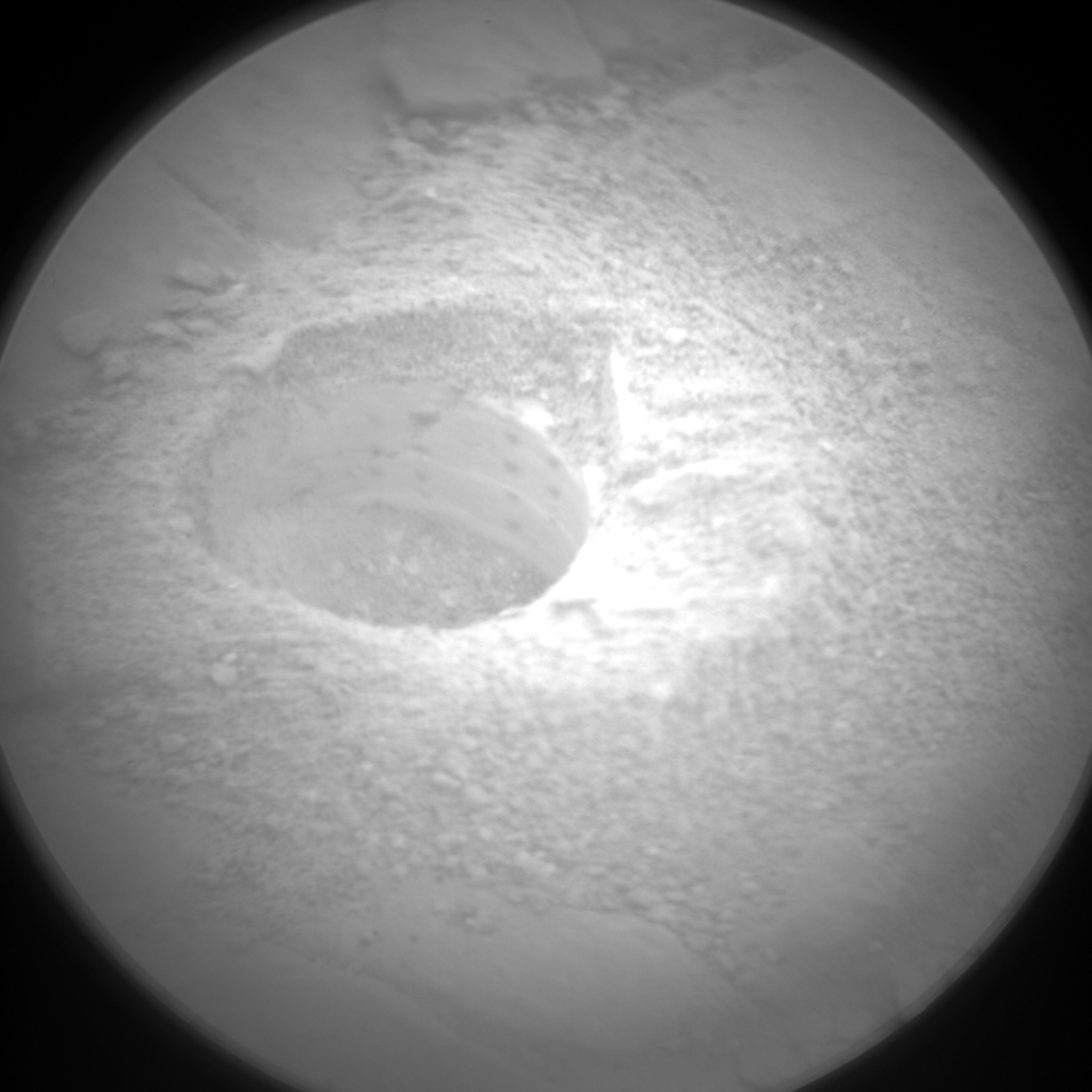 Nasa's Mars rover Curiosity acquired this image using its Chemistry & Camera (ChemCam) on Sol 2848, at drive 2176, site number 82