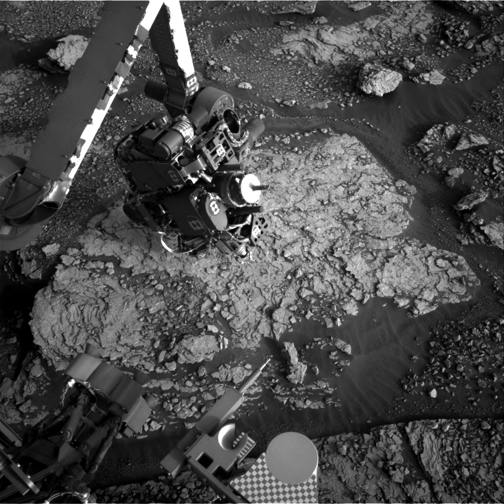 Nasa's Mars rover Curiosity acquired this image using its Right Navigation Camera on Sol 2851, at drive 2176, site number 82
