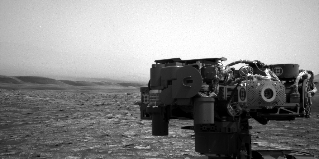 Nasa's Mars rover Curiosity acquired this image using its Right Navigation Camera on Sol 2853, at drive 2176, site number 82