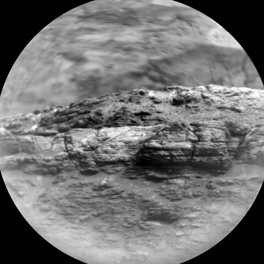 Nasa's Mars rover Curiosity acquired this image using its Chemistry & Camera (ChemCam) on Sol 2853, at drive 2176, site number 82