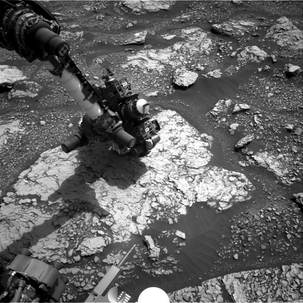 Nasa's Mars rover Curiosity acquired this image using its Right Navigation Camera on Sol 2854, at drive 2176, site number 82
