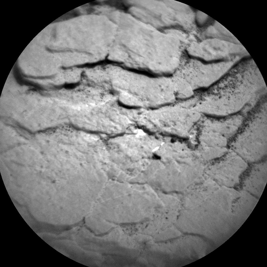 Nasa's Mars rover Curiosity acquired this image using its Chemistry & Camera (ChemCam) on Sol 2856, at drive 2176, site number 82