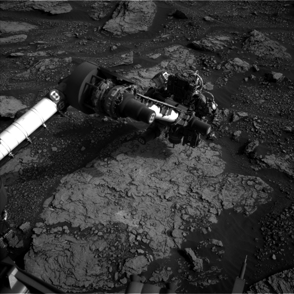 Nasa's Mars rover Curiosity acquired this image using its Left Navigation Camera on Sol 2858, at drive 2176, site number 82