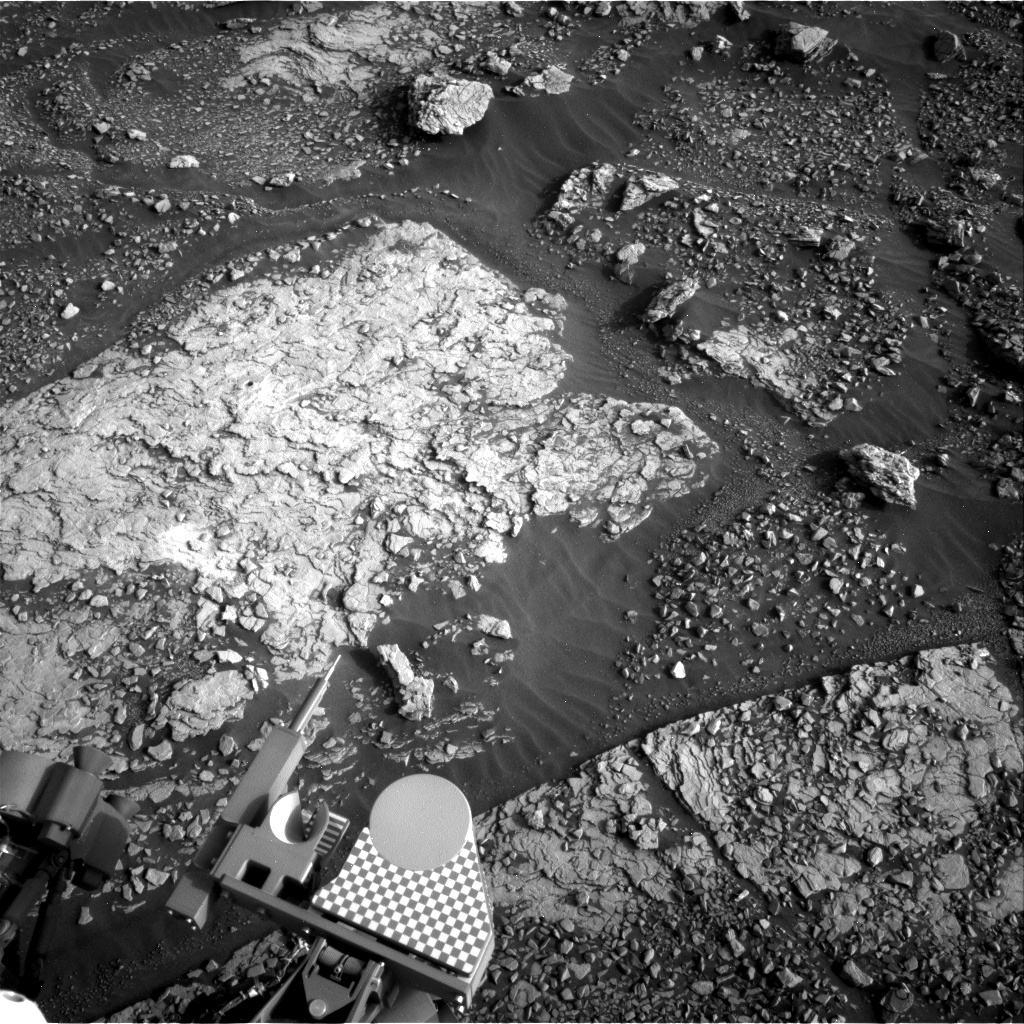 Nasa's Mars rover Curiosity acquired this image using its Right Navigation Camera on Sol 2858, at drive 2176, site number 82