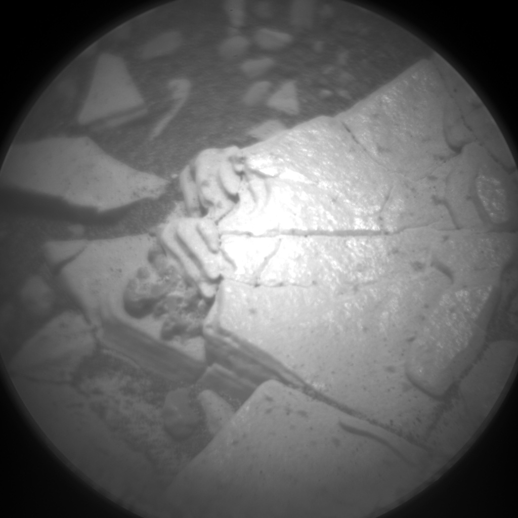 Nasa's Mars rover Curiosity acquired this image using its Chemistry & Camera (ChemCam) on Sol 2859, at drive 2176, site number 82