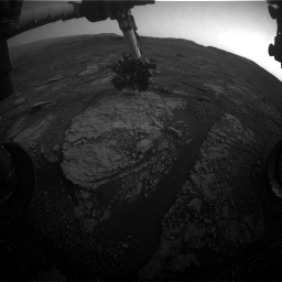 Nasa's Mars rover Curiosity acquired this image using its Front Hazard Avoidance Camera (Front Hazcam) on Sol 2859, at drive 2176, site number 82