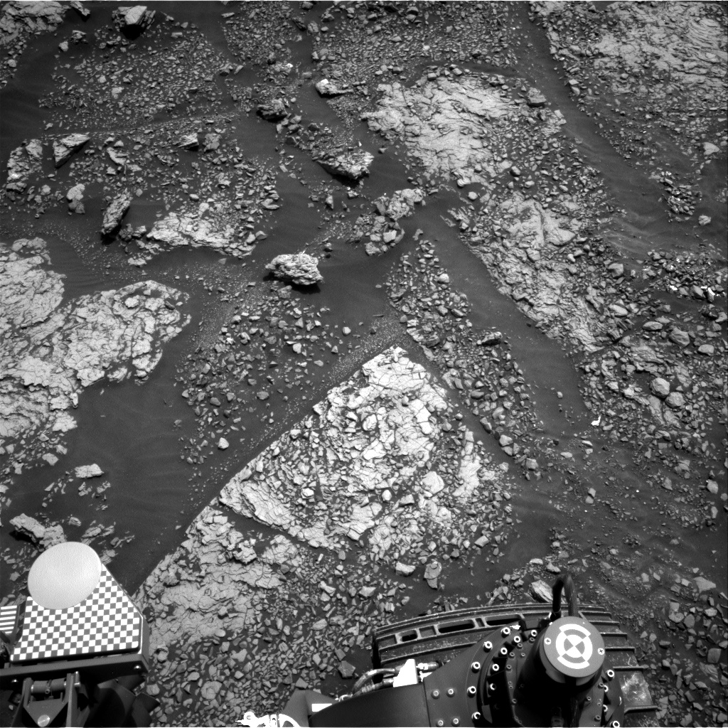 Nasa's Mars rover Curiosity acquired this image using its Right Navigation Camera on Sol 2862, at drive 2176, site number 82
