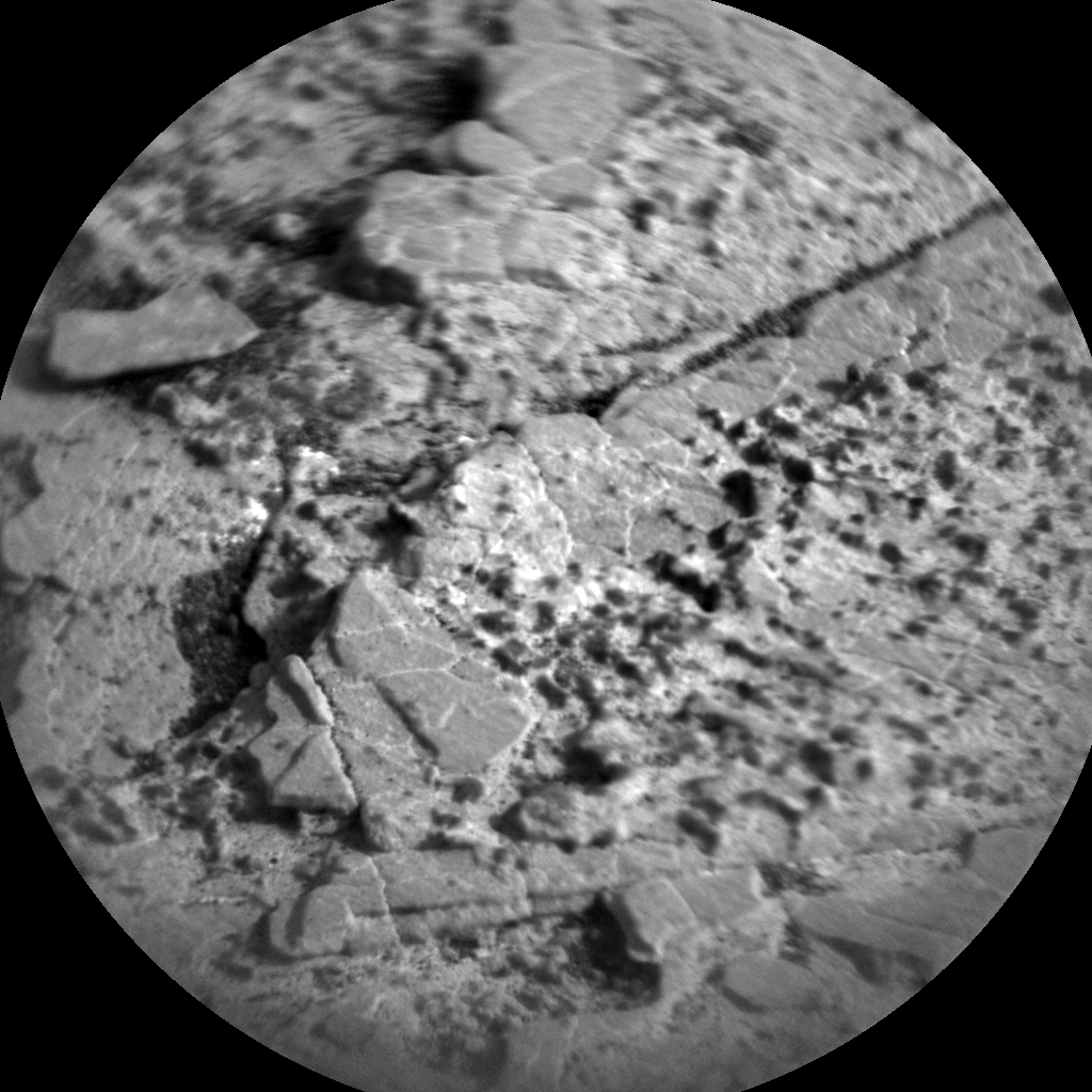 Nasa's Mars rover Curiosity acquired this image using its Chemistry & Camera (ChemCam) on Sol 2864, at drive 2176, site number 82