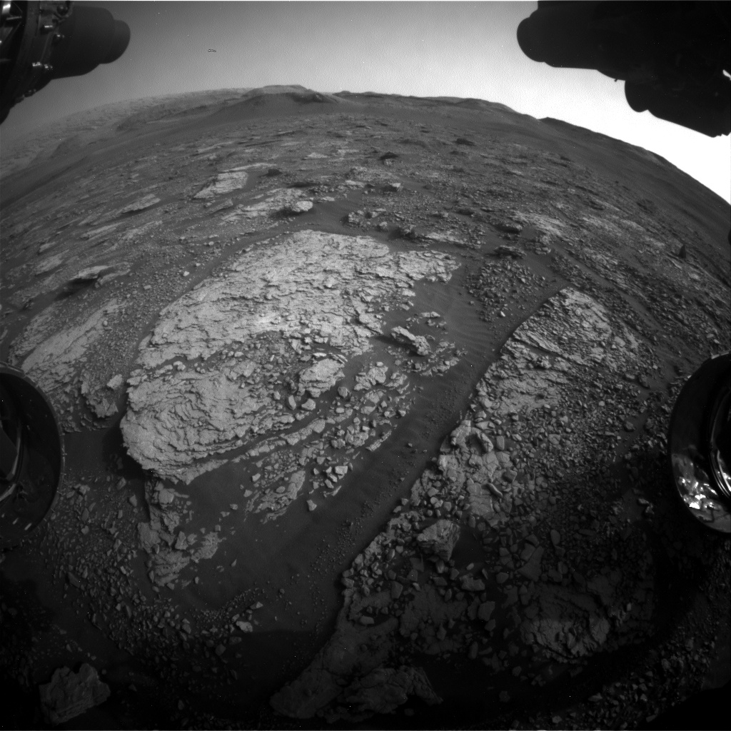 Nasa's Mars rover Curiosity acquired this image using its Front Hazard Avoidance Camera (Front Hazcam) on Sol 2865, at drive 2176, site number 82