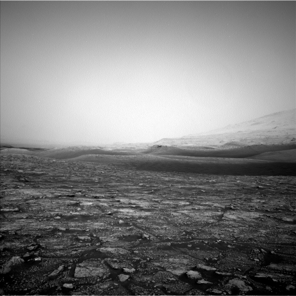 Nasa's Mars rover Curiosity acquired this image using its Left Navigation Camera on Sol 2865, at drive 2176, site number 82