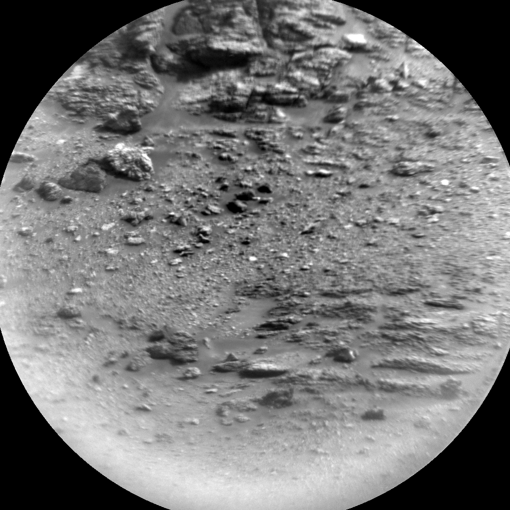 Nasa's Mars rover Curiosity acquired this image using its Chemistry & Camera (ChemCam) on Sol 2865, at drive 2176, site number 82