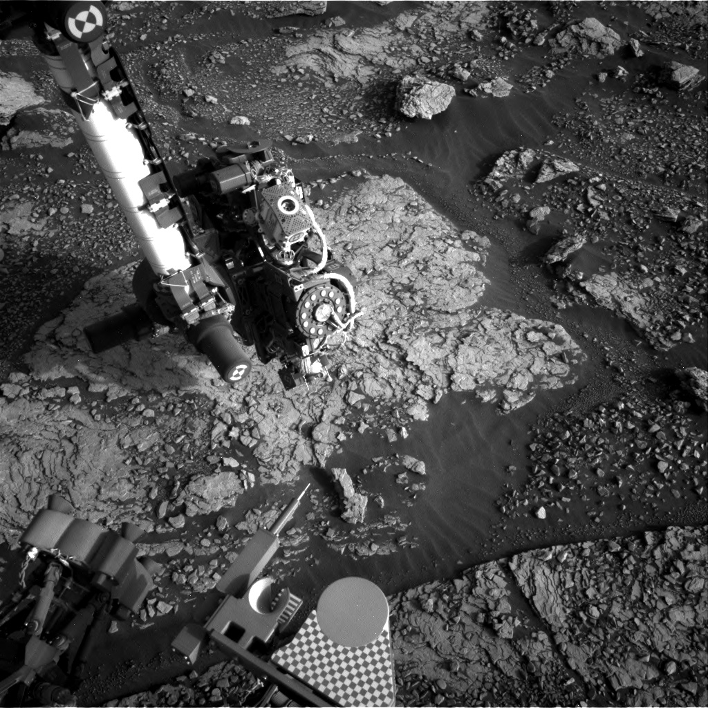 Nasa's Mars rover Curiosity acquired this image using its Right Navigation Camera on Sol 2867, at drive 2176, site number 82