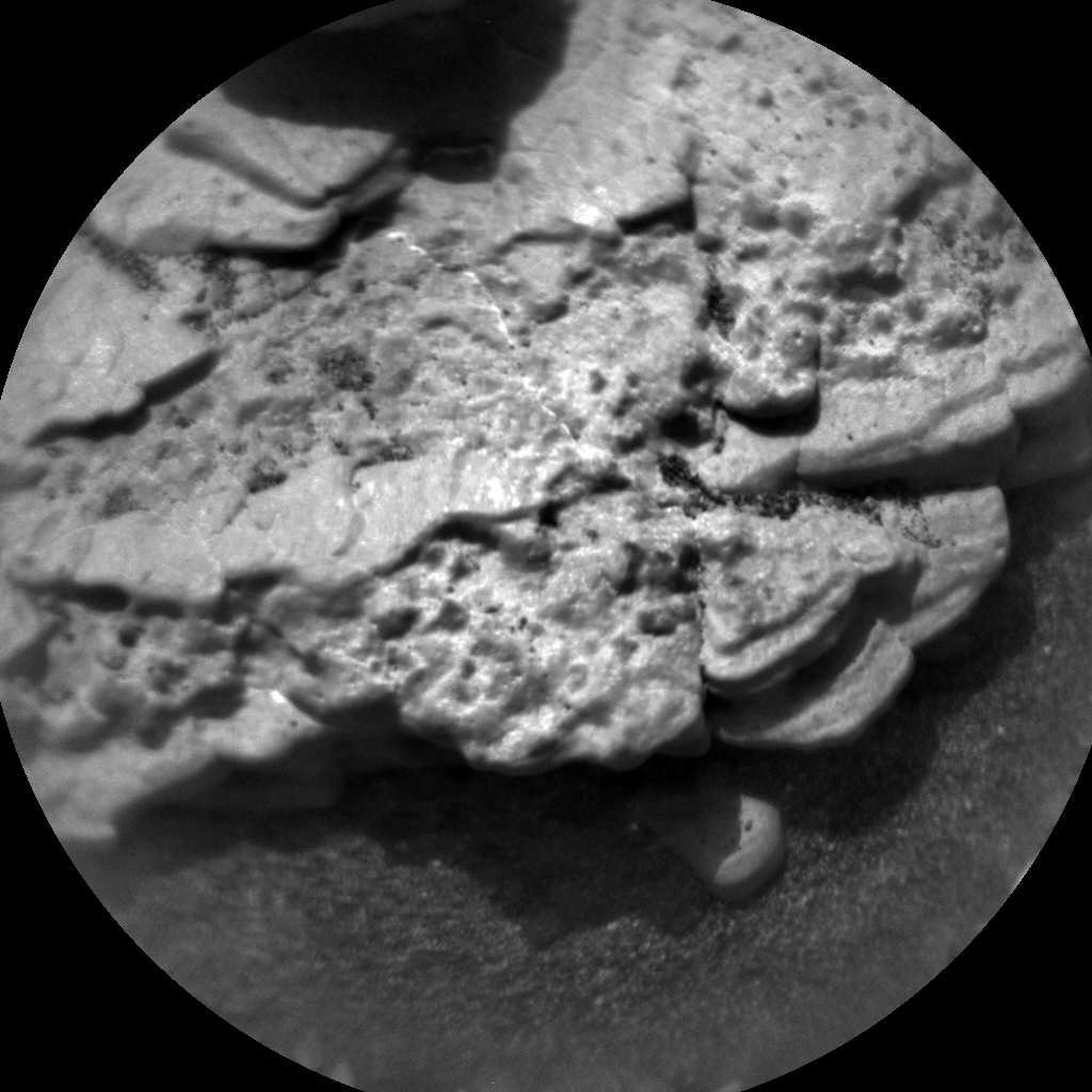 Nasa's Mars rover Curiosity acquired this image using its Chemistry & Camera (ChemCam) on Sol 2867, at drive 2176, site number 82
