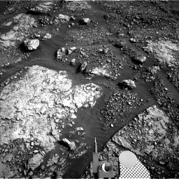 Nasa's Mars rover Curiosity acquired this image using its Left Navigation Camera on Sol 2869, at drive 2176, site number 82