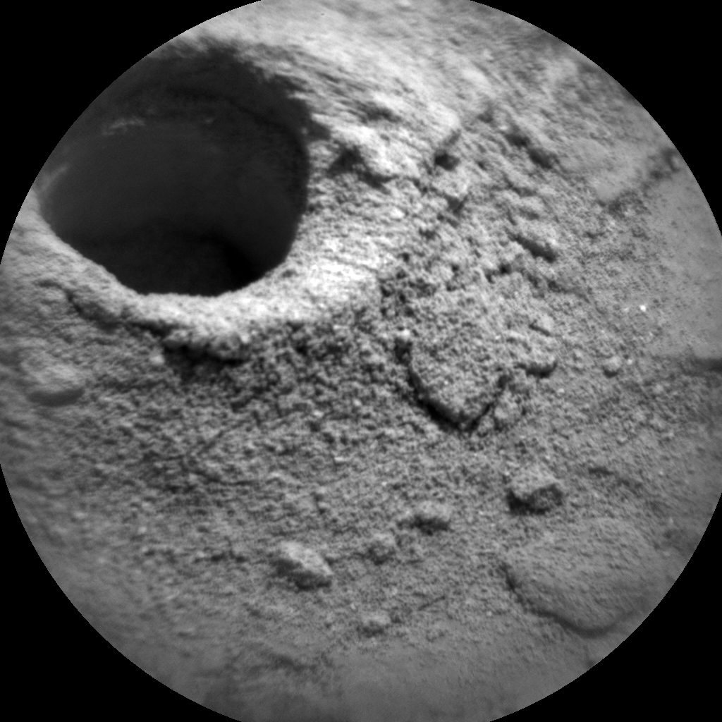 Nasa's Mars rover Curiosity acquired this image using its Chemistry & Camera (ChemCam) on Sol 2872, at drive 2176, site number 82