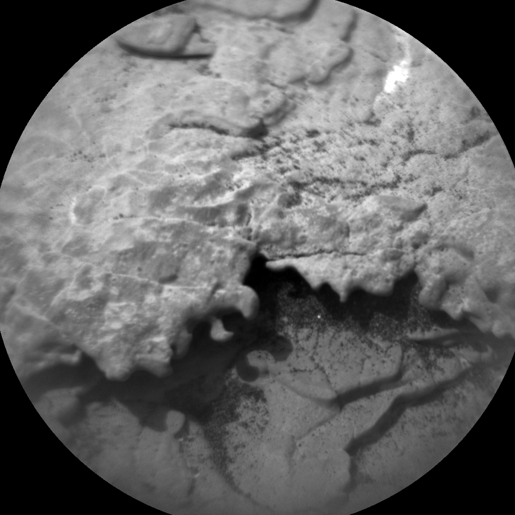 Nasa's Mars rover Curiosity acquired this image using its Chemistry & Camera (ChemCam) on Sol 2873, at drive 2176, site number 82