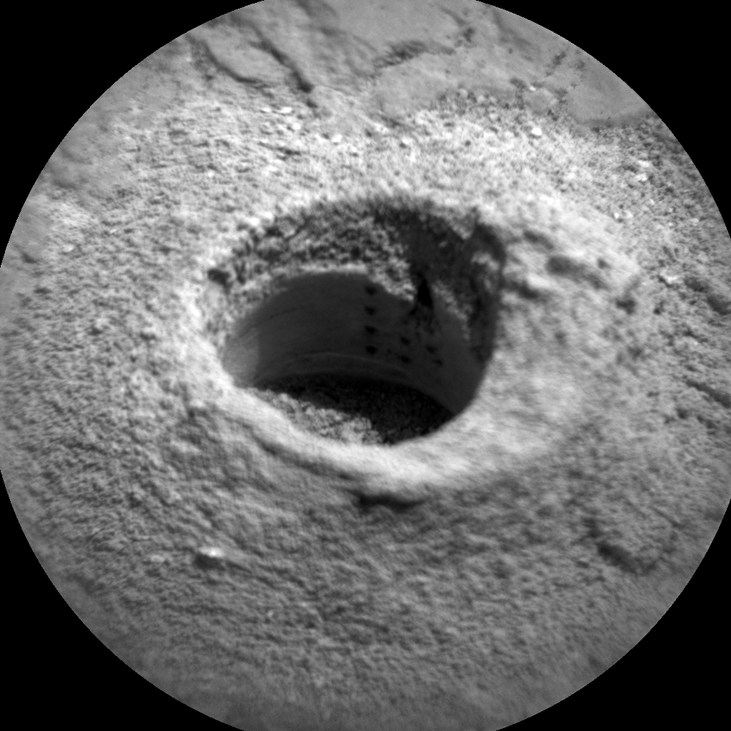 Nasa's Mars rover Curiosity acquired this image using its Chemistry & Camera (ChemCam) on Sol 2874, at drive 2176, site number 82