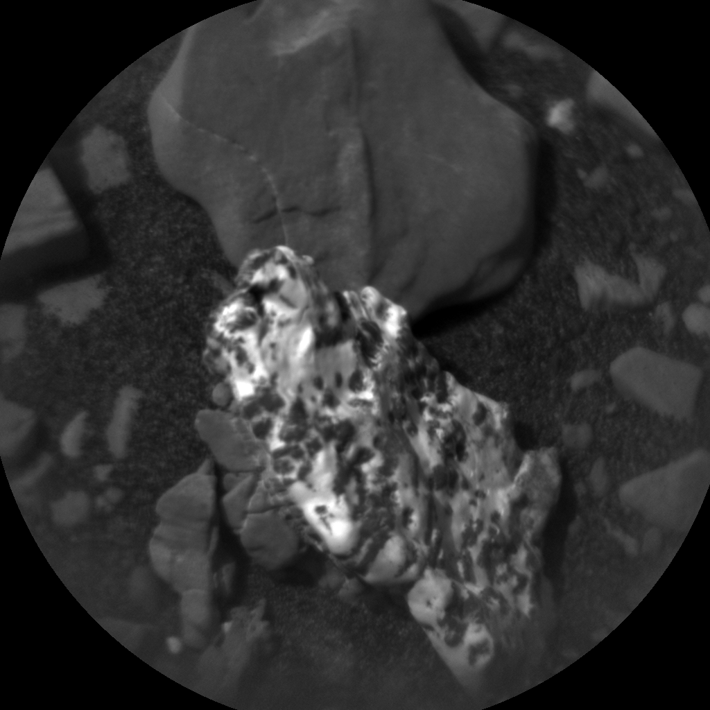 Nasa's Mars rover Curiosity acquired this image using its Chemistry & Camera (ChemCam) on Sol 2876, at drive 2176, site number 82