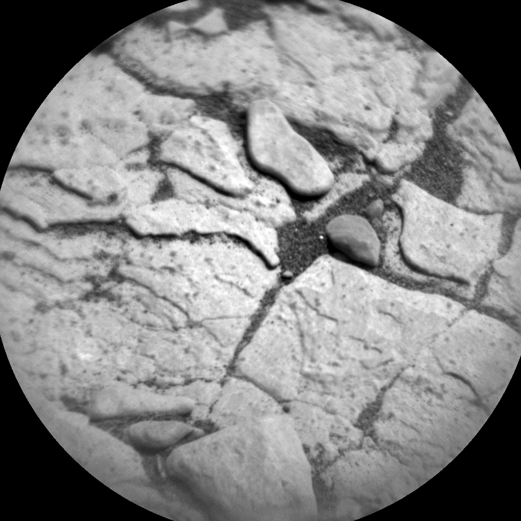 Nasa's Mars rover Curiosity acquired this image using its Chemistry & Camera (ChemCam) on Sol 2878, at drive 2176, site number 82