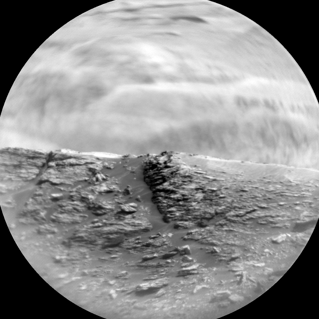 Nasa's Mars rover Curiosity acquired this image using its Chemistry & Camera (ChemCam) on Sol 2880, at drive 2176, site number 82