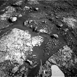 Nasa's Mars rover Curiosity acquired this image using its Left Navigation Camera on Sol 2881, at drive 2176, site number 82
