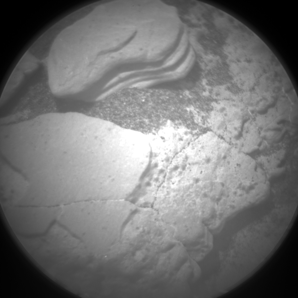Nasa's Mars rover Curiosity acquired this image using its Chemistry & Camera (ChemCam) on Sol 2883, at drive 2176, site number 82