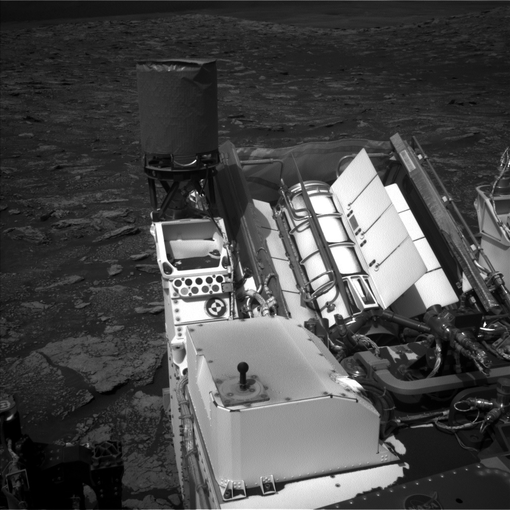 Nasa's Mars rover Curiosity acquired this image using its Left Navigation Camera on Sol 2884, at drive 2176, site number 82