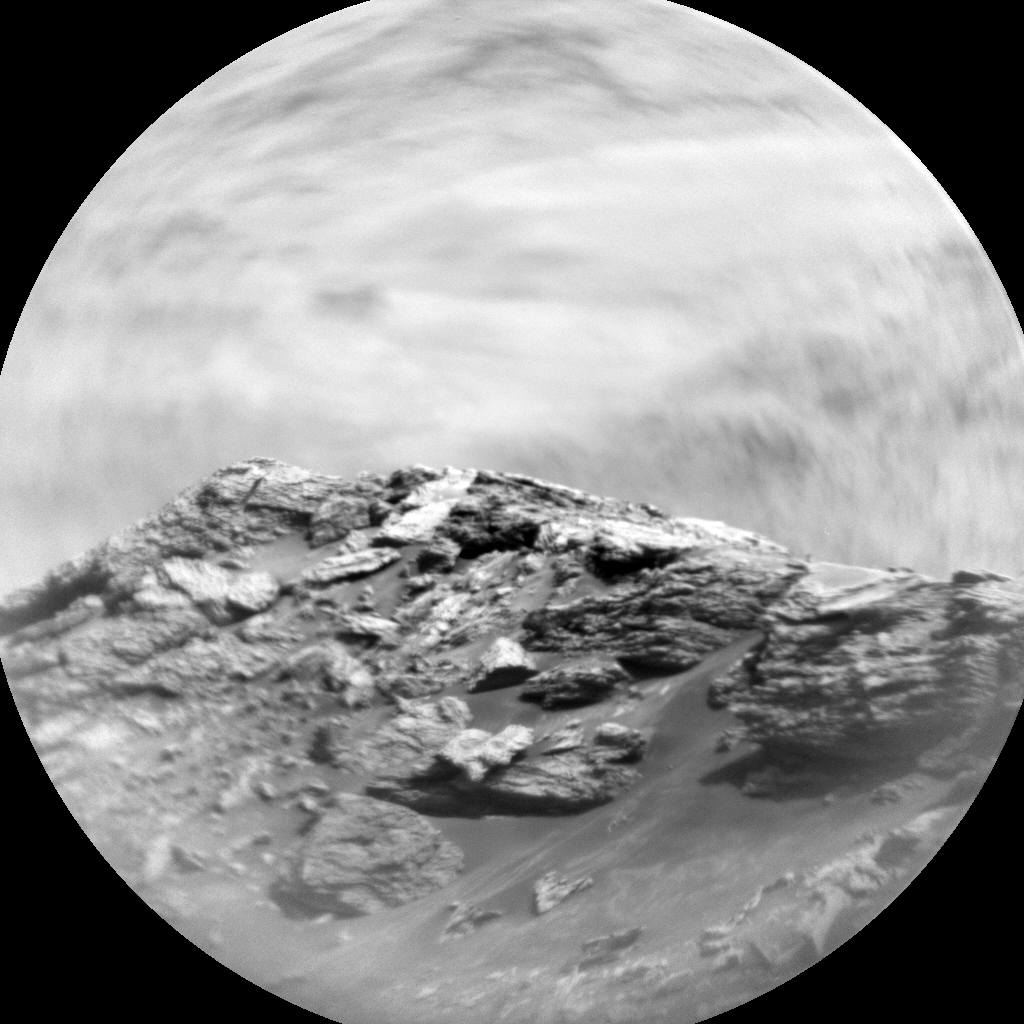 Nasa's Mars rover Curiosity acquired this image using its Chemistry & Camera (ChemCam) on Sol 2884, at drive 2176, site number 82