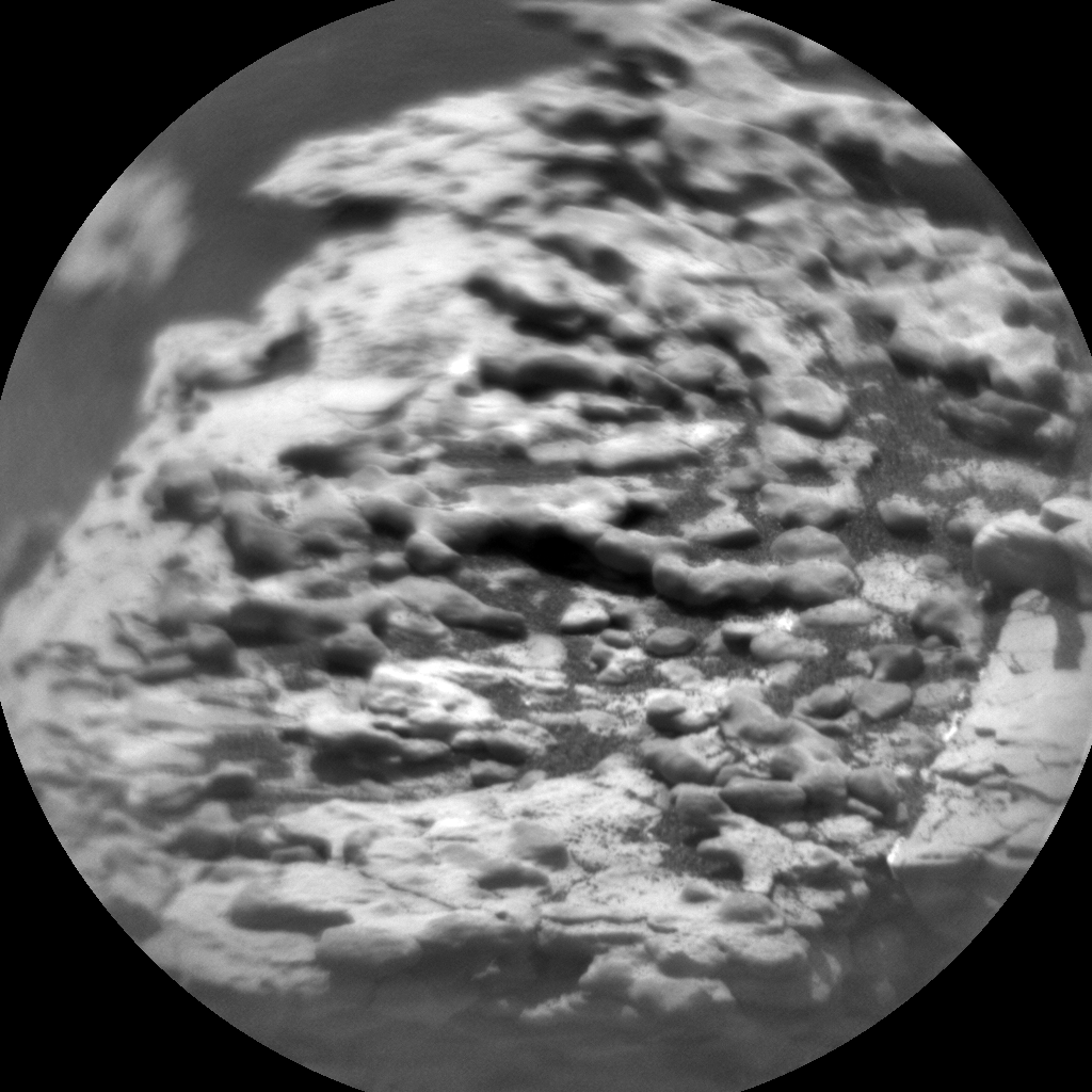 Nasa's Mars rover Curiosity acquired this image using its Chemistry & Camera (ChemCam) on Sol 2886, at drive 2176, site number 82