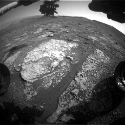 Nasa's Mars rover Curiosity acquired this image using its Front Hazard Avoidance Camera (Front Hazcam) on Sol 2887, at drive 2176, site number 82